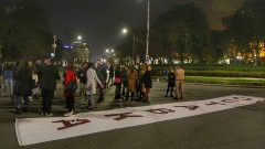 Спокойно премина 114-ата вечер на протести в София