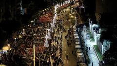 Ограничения в градския транспорт в Атина за празниците