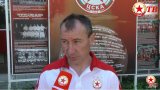 Стамен Белчев: Готови сме да проведем пълноценна подготовка