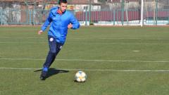 Костадинов: Стамен Белчев ми каза, че ще разчита на мен като десен защитник