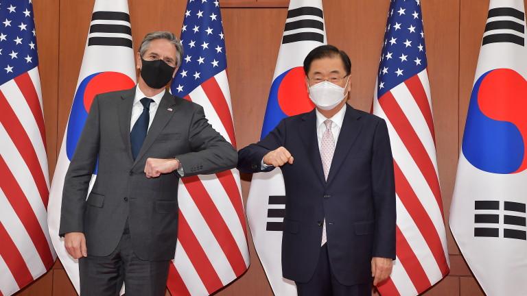 САЩ не изключват военен вариант срещу Северна Корея