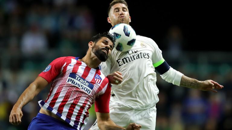 Реал Мадрид 2 : 2 Атлетико Мадрид 90′ Началото на