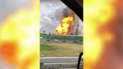 Огромен пожар в ТЕЦ в Москва взе една жертва и рани други повече от 10