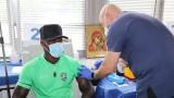 Играчите на Лудогорец се ваксинираха против COVID-19 във ВМА