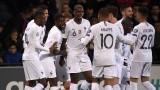 Звездите на Франция не срещнаха трудности с Молдова