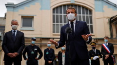 """Макрон плаши Турция с """"действия"""" заради дейностите ѝ в Средиземно море"""