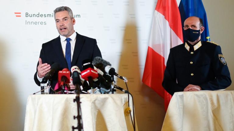 Австрия: Всички 15 задържани заради терора във Виена са ислямисти