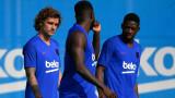 Осман Дембеле се завръща в тима на Барселона