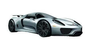 645 000 евро за Porsche 918 Spyder