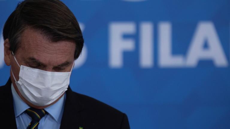 Бразилия с над 100 000 заразени с коронавирус за денонощие