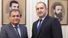 Президентът обсъди електронното правосъдие с новия шеф на ВАС