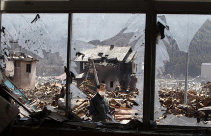 5,5 по Рихтер разлюля източна Япония
