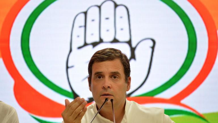 Индийският опозиционен лидер Рахул Ганди губи депутатското си място в