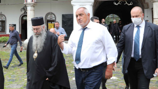 РЗИ внесе акта за санкцията на Борисов за неносене на маска