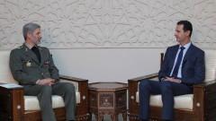 Иран и Сирия подписаха споразумение за военно сътрудничество