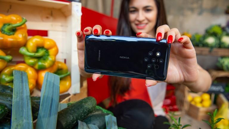 Снимка: Първият в света смартфон с пет камери вече е в България. Колко ще струва?