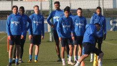 Групата на Левски за сблъсъка с Ботев (Пловдив)