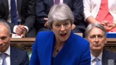 Корбин трябва да си ходи, призова Мей в последното си обръщение в парламента