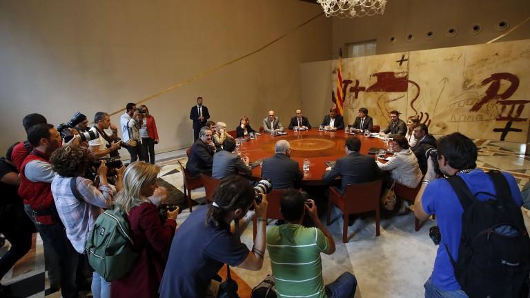 Каталуния съди виновните за насилието
