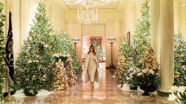 Последната Коледа на Мелания в Белия дом