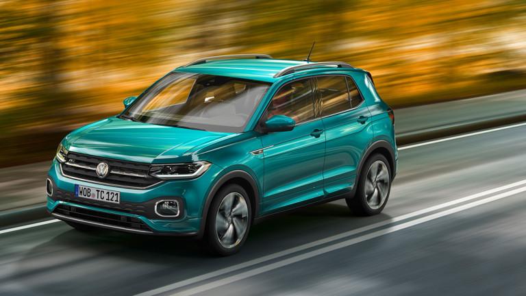 Volkswagen представи най-малкия си кросоувър T-Cross на пищна презентация в