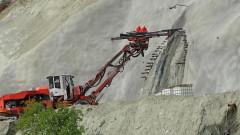 """Започна копаенето на тунел """"Железница"""" край Симитли"""