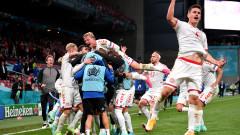 """Ново чудо на """"Паркен""""! Дания разби Русия и се класира за осминафиналите на Евро 2020"""