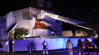 """Атакуваха посолството на Турция в Дания с коктейли """"Молотов"""""""