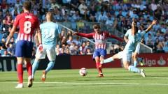 Атлетико (Мадрид) загуби от Селта (Виго) с 0:2