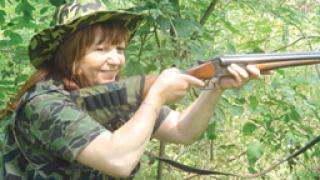 Първата женска ловна дружинка открива сезон 2008/2009г