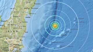 Земетресение 6,0 по Рихтер до Япония