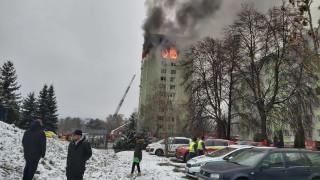 Газова експлозия уби най-малко 4 души в жилищен блок в Словакия