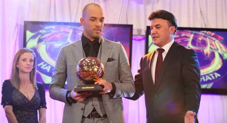 Официално: Ники Михайлов детронира Бербатов за Футболист на годината