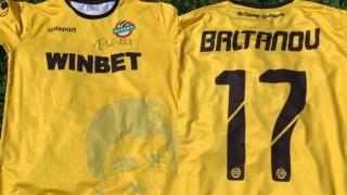 Лъчезар Балтанов дари своя тениска в подкрепа на малкия Калоян