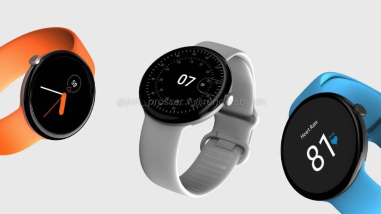 Kакво знаем за смартчасовника Google Pixel Watch