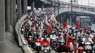 Отмениха извънредното положение в Банкок