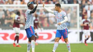 Манчестър Юнайтед с драматична победа в края, Роналдо с нов гол