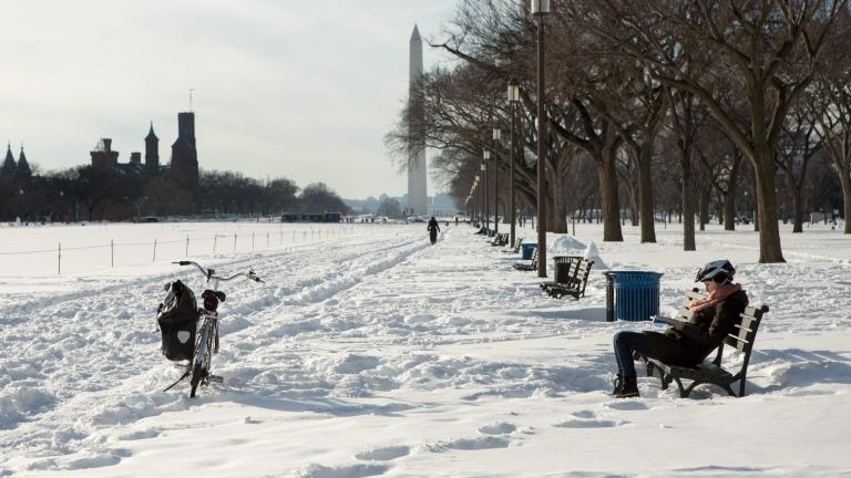 Голяма част от снега, който се очакваше, падна в Средния