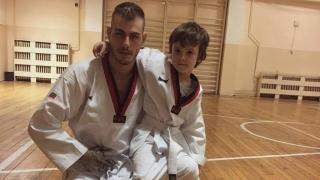 Световен шампион по лека атлетика стана таекуондист!
