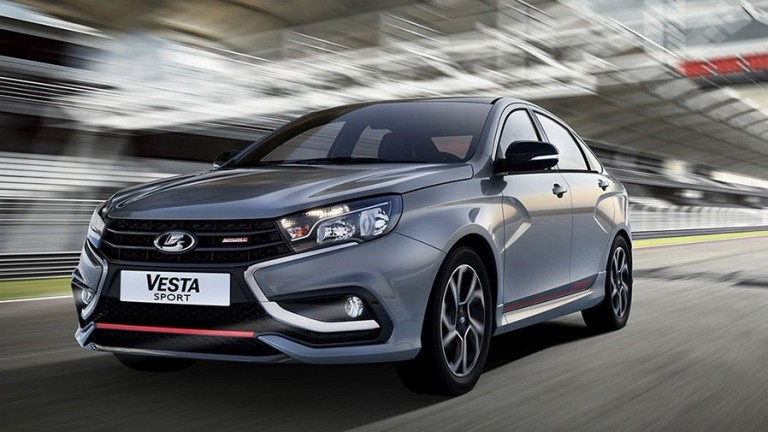 Представиха новата Lada Vesta Sport