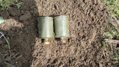 Военни авиатори обезвредиха две ръчни гранати в село Българене