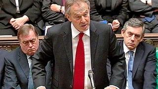 Премиерът Блеър - за последен път в парламента