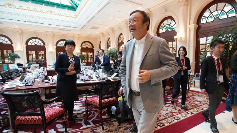 Снимка: Huawei: 5G не е атомна бомба, благодарим на Тръмп за промотирането на компанията