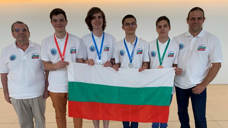 Наши ученици спечелиха 4 медала от международна олимпиада по информатика