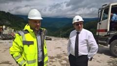 """Регионалният министър направи проверка-изненада на тунел """"Витиня"""""""