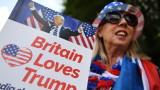 Хиляди протестират в Шотландия, докато Тръмп играе голф