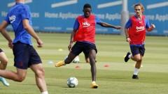 Контузията на Дембеле спести 5 млн. евро на Барселона