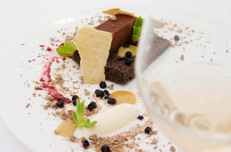 Шоколадов мус с домашен сладолед