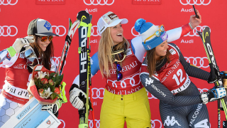 Лара Гут-Бехрами се убедителна победа в Кранс Монтана
