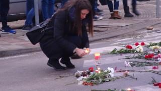 Нов протест в Благоевград заради загиналото момиче на пешеходна пътека